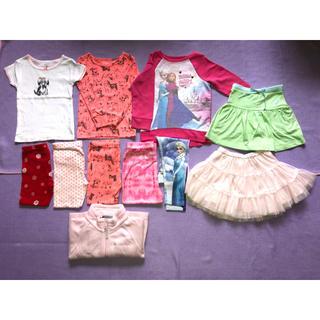 カーターズ(carter's)の子供服まとめ売り11点長袖女の子2T 80cm〜90cm カーターズ コロンビア(その他)