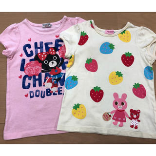 mikihouse - Tシャツ2枚セット