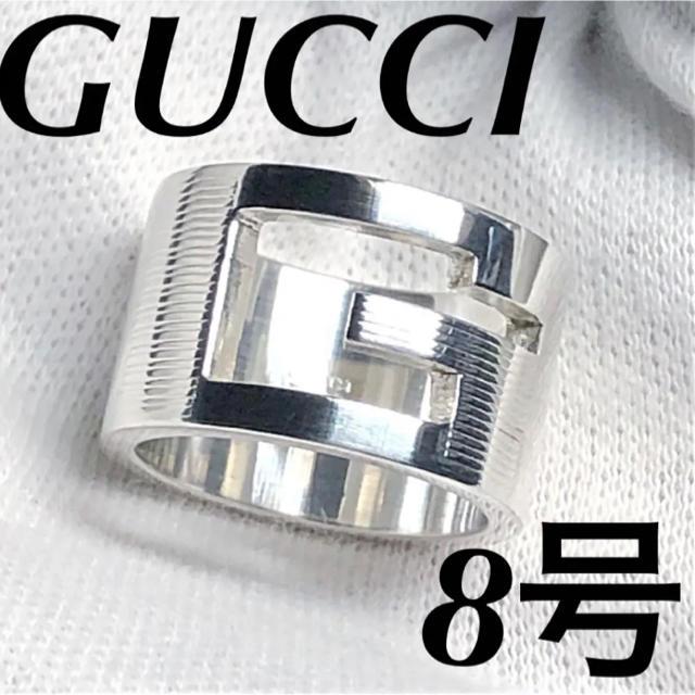ブルガリコピー時計,Gucci-美品 GUCCI指輪 ワイドタイプJPN8号の通販