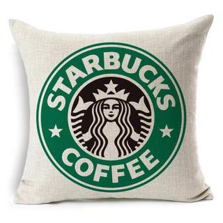 スターバックスコーヒー(Starbucks Coffee)のスターバックス クッションカバー 2枚セット(クッションカバー)