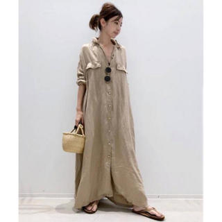 L'Appartement DEUXIEME CLASSE - アパルトモン REMI RELIEF MAXI シャツワンピース タグ付き新品
