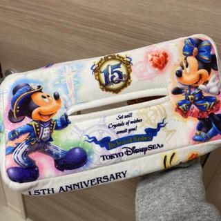 Disney - ディズニー 15周年 ティッシュカバー ミニー ミッキー