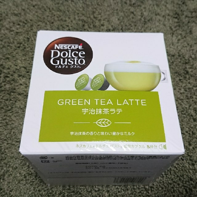Nestle(ネスレ)のネスカフェ ドルチェグスト 宇治抹茶ラテ(5箱) 食品/飲料/酒の飲料(その他)の商品写真