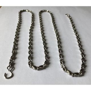 【チェーン №19】93cm ウォレットチェーン 鎖 アクセサリー(各種パーツ)