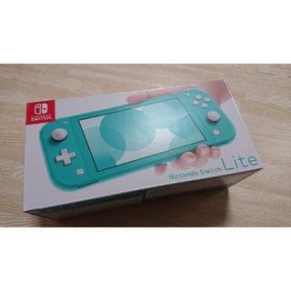 ニンテンドースイッチ(Nintendo Switch)のNintendo Switch lite ターコイズ 新品未使用(携帯用ゲーム機本体)