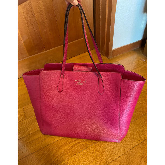 Gucci - gucci トートバッグ ピンクの通販