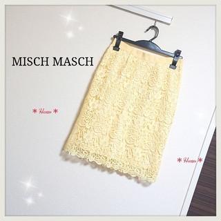 ミッシュマッシュ(MISCH MASCH)のMISCH MASCH*レースタイトスカート(ひざ丈スカート)