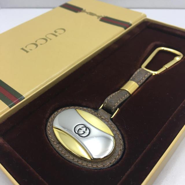 時計通販ブランドスーパーコピー,Gucci-美品オールドグッチキーホルダーヴィンテージインターロッキング男女兼用の通販