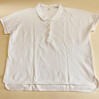 UNIQLO - ユニクロ 白ポロシャツ