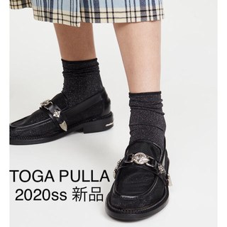 TOGA - 新品未使用★TOGA PULLA 2020ss★今期新作 メッシュローファー