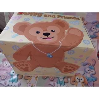 ダッフィー - 香港ディズニー限定 ダッフィー シェリーメイ 収納ボックス ストレージボックス