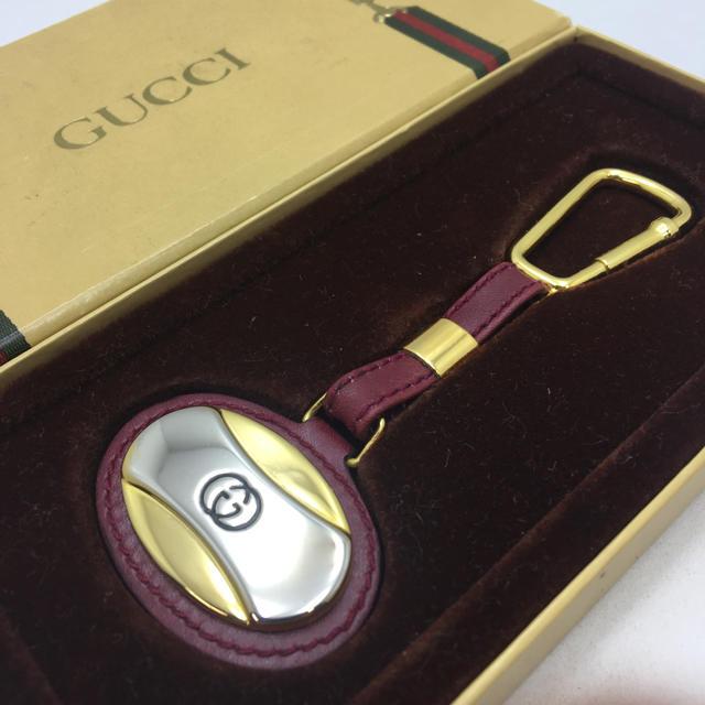 時計ブレゲ中古スーパーコピー,Gucci-極美品オールドグッチキーホルダーヴィンテージインターロッキング男女兼用の通販