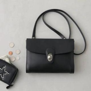 moussy - MOUSSY店舗限定ノベルティ♡本革ショルダーバッグ♡ブラック牛革新品タグ付き