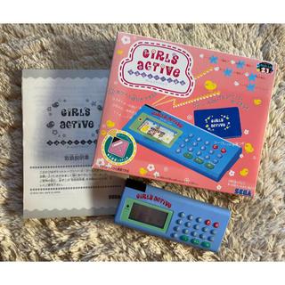 SEGA - SEGA GIRLSACTIVE レトロおもちゃ ポケベル 光通信