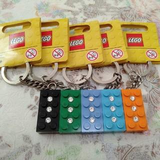 レゴ(Lego)のレゴ LEGO キーホルダー ブロック キーホルダー キーチェーン 5種類(キーホルダー)
