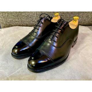 Trickers - Tricker's ストレートチップ ブラック 6H 25.5 黒 革靴 6.5