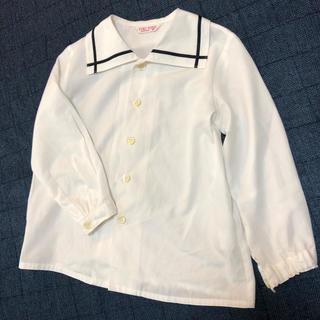 ユキトリイインターナショナル(YUKI TORII INTERNATIONAL)の男女兼用 YUKI TORII 制服ブラウス 120センチ(ブラウス)