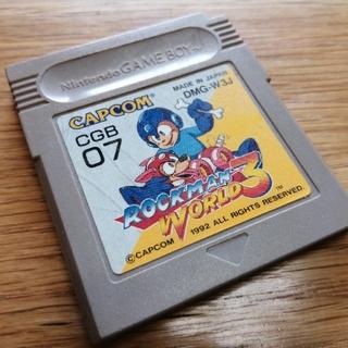 ゲームボーイ - ロックマンワールド3 ゲームボーイソフト ꙳★*゚