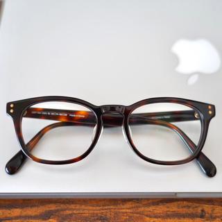 ジンズ(JINS)のJINS 鼈甲柄 眼鏡(サングラス/メガネ)