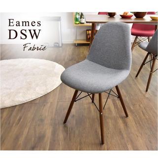 EAMES - 中古 グレーファブリック イームズチェア EAMS デザイナーズ イス