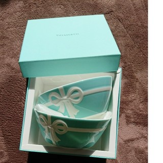 Tiffany & Co. - ティファニー  ブルーボックス ボウル