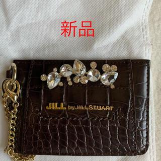 JILL by JILLSTUART - 新品 JILL  by JILLSTUART ビジューロイヤルパスケース