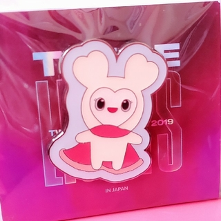 Waste(twice) - twice💗ダヒョン ピンバッチ#TWICELIGHTS ダブリー 未開封
