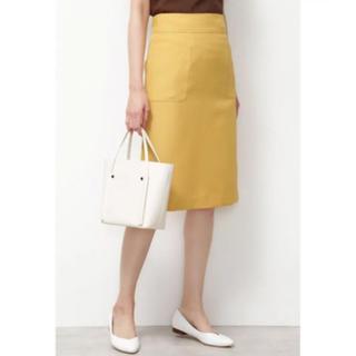 ナチュラルビューティーベーシック(NATURAL BEAUTY BASIC)の春色 タイトスカート 膝丈(ひざ丈スカート)