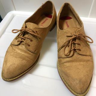 ベルシュカ(Bershka)のブラウンベージュ Bershka(ローファー/革靴)