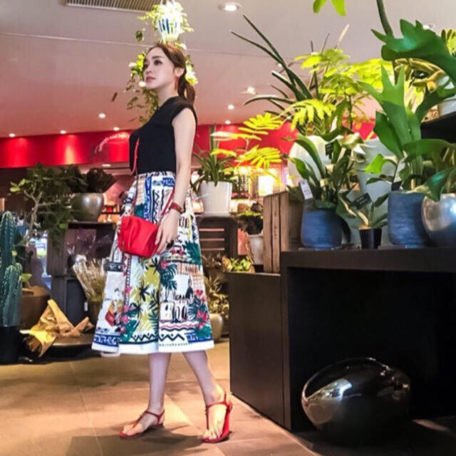Chesty(チェスティ)のチェスティ♡柄スカート レディースのスカート(ロングスカート)の商品写真