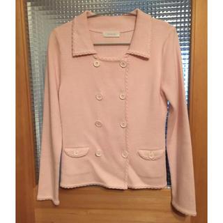 エニィスィス(anySiS)の糸のジャケット(テーラードジャケット)
