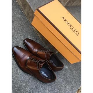 madras - マドラスmodelloビジネスドレスシューズ ストレートチップ 革靴 REGAL