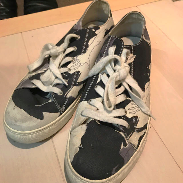 Yohji Yamamoto(ヨウジヤマモト)のヨウジヤマモト yohji yamamoto オシャレ スニーカー  メンズの靴/シューズ(スニーカー)の商品写真