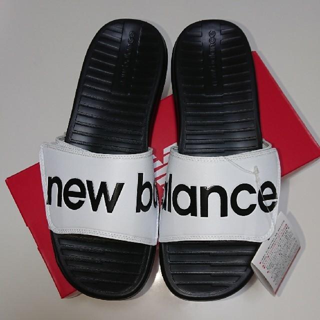 New Balance(ニューバランス)の新品☆ニューバランス シャワーサンダル SDL230 WT 28.0㎝ ホワイト メンズの靴/シューズ(サンダル)の商品写真