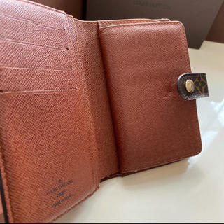 LOUIS VUITTON - 正規品ルイヴィトンガマ口モノグラム 折財布