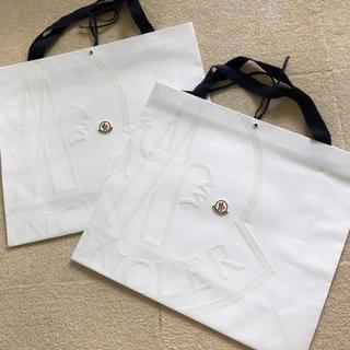 モンクレール(MONCLER)のMONCLER モンクレール袋 2枚セット(ショップ袋)