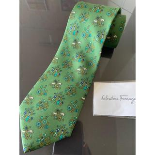 Salvatore Ferragamo - フェラガモ ネクタイ 新品 袋付き