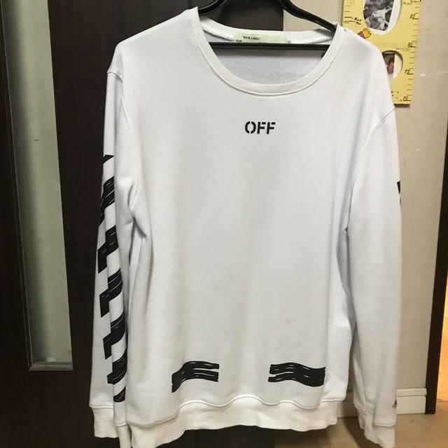 OFF-WHITE(オフホワイト)の【本日のみ値下げ】Off-White ロンT メンズのトップス(Tシャツ/カットソー(七分/長袖))の商品写真