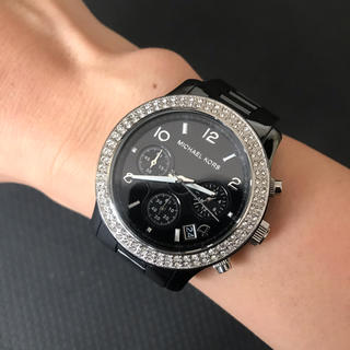 Michael Kors - MICHAEL KORS ブラック 腕時計