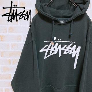 STUSSY - 【激レア‼︎】ステューシー◎ビッグロゴ プルオーバーパーカー STUSSY