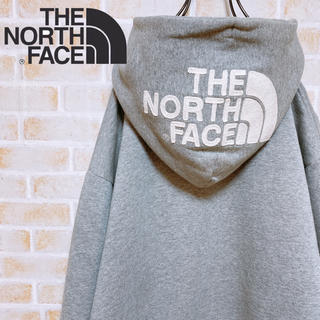 THE NORTH FACE - 【激レア‼︎】THE NORTH FACEリアビューフルジップ ロゴ刺繍パーカー