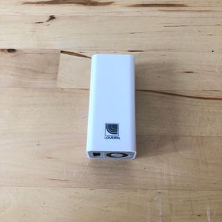 エレコム(ELECOM)のモバイルバッテリー 2200mAh iPhone Android(バッテリー/充電器)