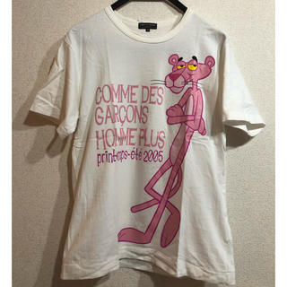 コムデギャルソンオムプリュス(COMME des GARCONS HOMME PLUS)のオムプリュスかけるピンクパンサー(Tシャツ/カットソー(半袖/袖なし))