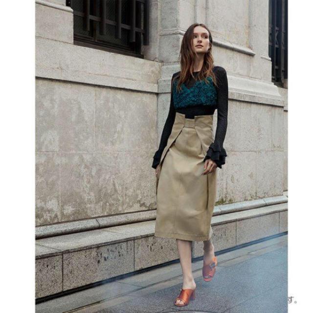 GRACE CONTINENTAL(グレースコンチネンタル)のグレースコンチネンタル スカート レディースのスカート(ひざ丈スカート)の商品写真