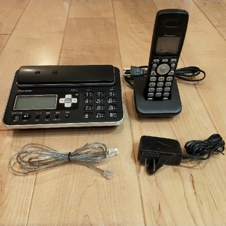 パイオニア(Pioneer)の電話機 コードレス(その他)