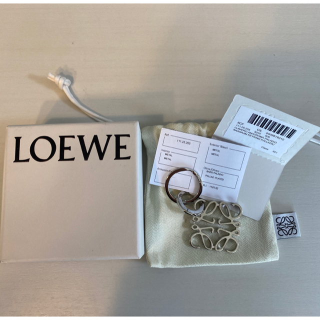 LOEWE(ロエベ)のALOHAさま専用☆ ロエベ  キーリング レディースのアクセサリー(チャーム)の商品写真