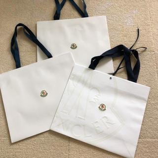 モンクレール(MONCLER)のMONCLER モンクレール袋 3枚セット(ショップ袋)