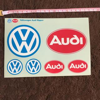 アウディ(AUDI)のアウディ フォルクスワーゲン ステッカー(車外アクセサリ)