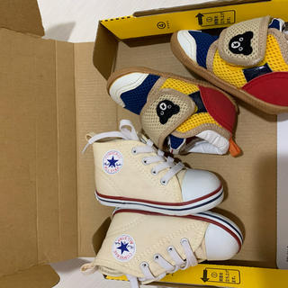 mikihouse - mikihouse とコンパス 12cm靴二足まとめ売り