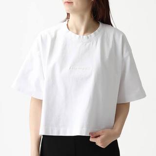 アクネ(ACNE)の未使用 acne studios アクネ  Emboss Tシャツ ロゴ(Tシャツ(半袖/袖なし))